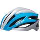 KED Wayron Bike Helmet blue/silver